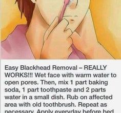 How to make remove blackheads fast
