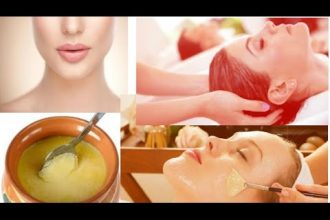 Ghee facial mask for glowing skin