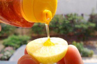 Honey and Lemon for Clear Skin